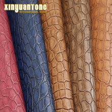 Embossed Snake Skin PU Artificial Leather Raw Material For Shoe Upper