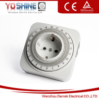 Mechanical Timer Switch Daily Timer Germany Plug Hot Type