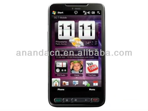 HD2 T8585 Leo 100 T-mobile 3G Windows mobile 6.5 smart phone GPS WIFI Russian Spanish Arabic