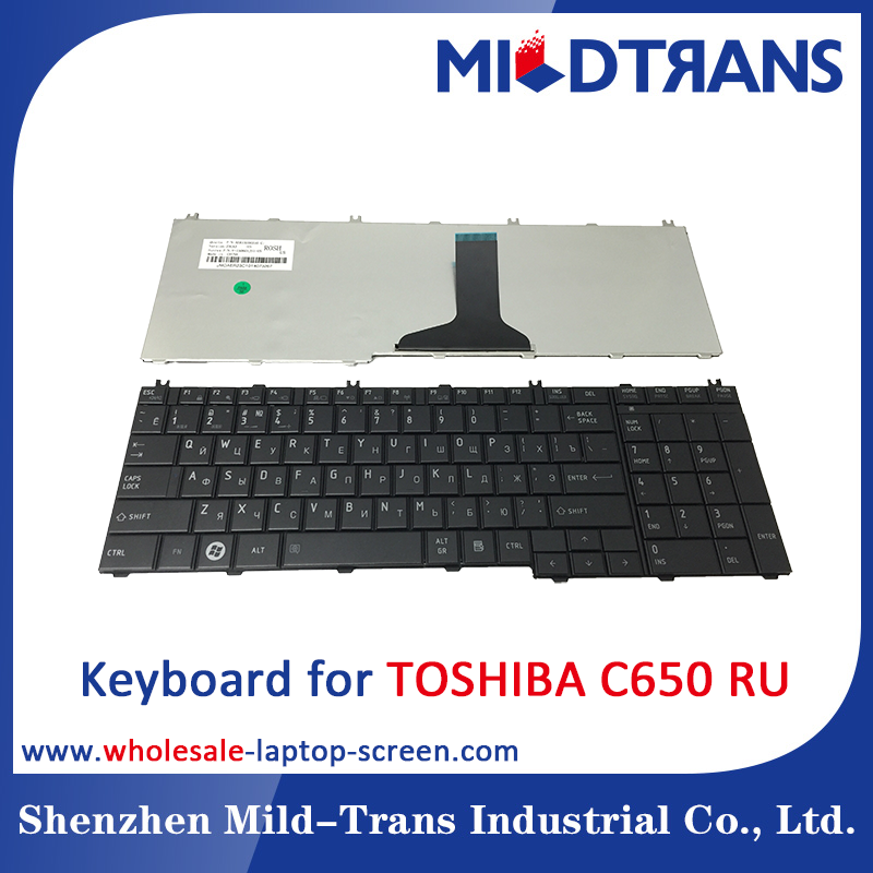 Alibaba Gold China supplier Keyboard for TOSHIBA C650 RU language