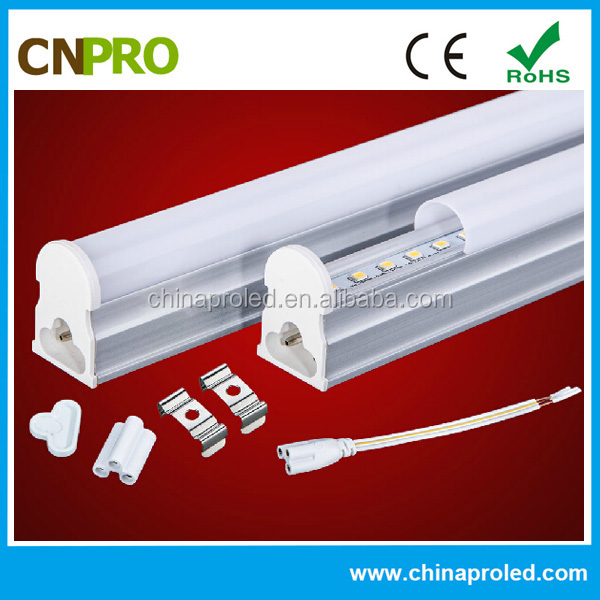 High Power Factor 0.97 100V-277V AC T5 115CM LED Tube 16W CE ROHS FCC