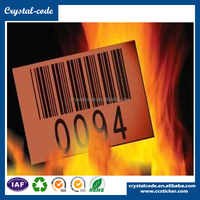 2016 hot sale self adhesive special high and low label sticker
