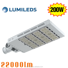 200W LED Modular street light SMD3030 outdoor waterproof 120 degree Pole Highway Parking Lot Road Light