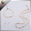 Wholesale Freshwater White Color Pearl Set