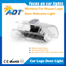 10-year Experience Auto Cars Wireless Play Plug Door Welcome Light Ghost Shadow Car Logo Light