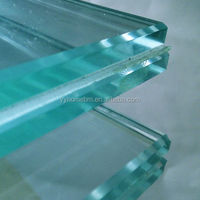 Top Quality SGP PVB EVA Interleaving'Tempered Laminated Glass Factory Price