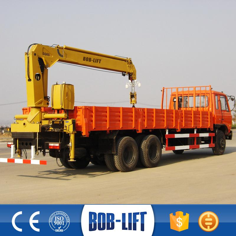Tractor Hydraulic Boom Crane : Small lift column fixed hydraulic boom tractor mounted
