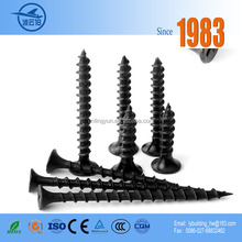 China Exporter Supply Black Galvanized Decorative Cheap Wood Screw