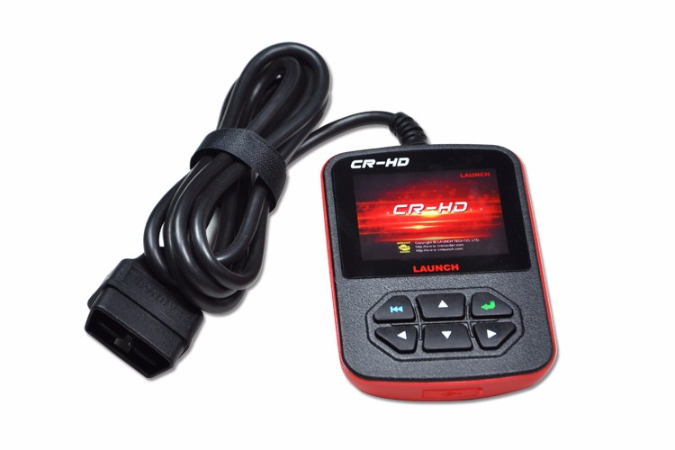 100% Original Launch CReader CR-HD diagnostic scanner Heavy Duty Code ScannerOBD heavy truck code scanner