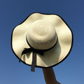 2017 innovative product Women Floppy Sun Beach Paper Straw Hats Wide Brim Summer Cap New Style