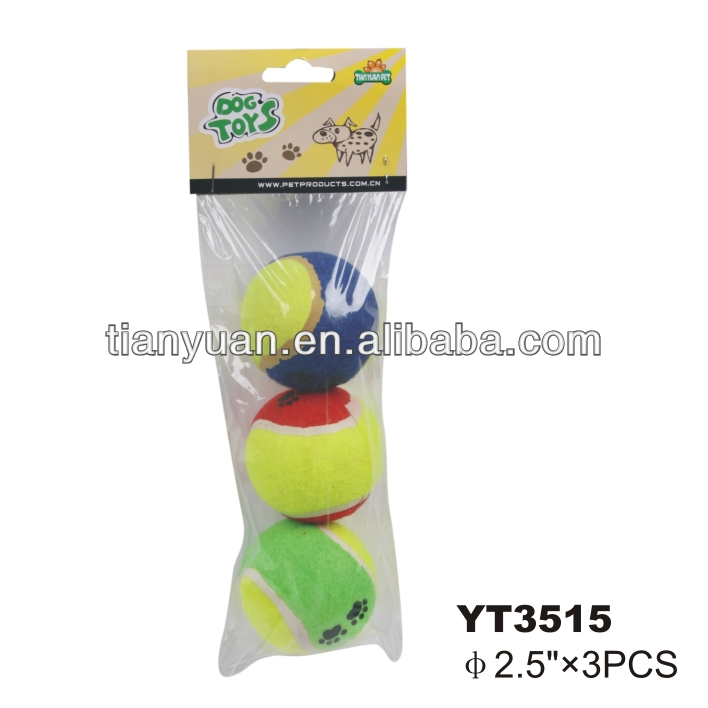 Pet Tennis toys, Pet products, Pet tennis ball China supplier