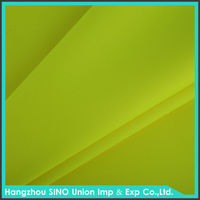 Outdoor fabric wholesale 300D yellow orange fluorescent fabric