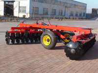 tractor trailed hydraulic heavy duty offset disc harrow tractor for sale