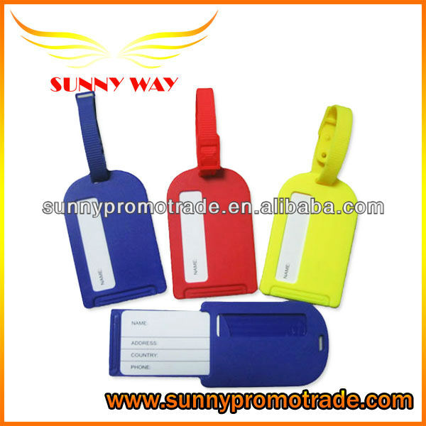 Best Price Plastic Gift Item for Luggage Tag