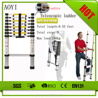 Factory direct 9 steps multipurpose evacuation ladder AY-ZJ1026