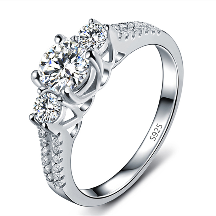 2016 platinum plated flexible women large size ring jewelry size 6 7 8 9