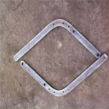 hdg carbon steel shield wire support bracket