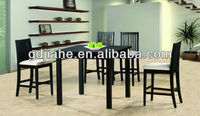 2014 Europe modern dining furniture, Dining Room wooden dining table chair Sets