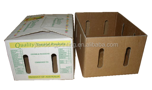fruit banana carton corrugated