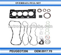 Auto complete repair kit full engine gasket set for 0917.YO