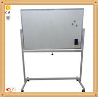 Standard Manufactured Magnetic Writing Board Mobile Whiteboard for students with aluminum frame