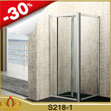 high quality bifold shower door pivot folding shower enclosures shower room S218 royo