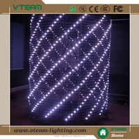 Outdoor soft flexible curtain LED display screen