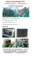 Poly-crystalline Irregular Solar Glass/ Glass Panel