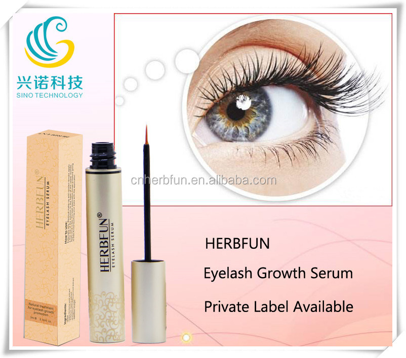 Private label herbal ingredient Mascara type Eyelash Growth Serum eyelash enhancer