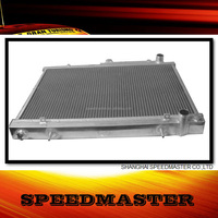 all polished aluminium car radiator good prices for Pintara/Skyline R33