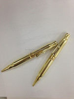 Metal ball pen,bullet pen with metal gun clip for promotion gift . P10097