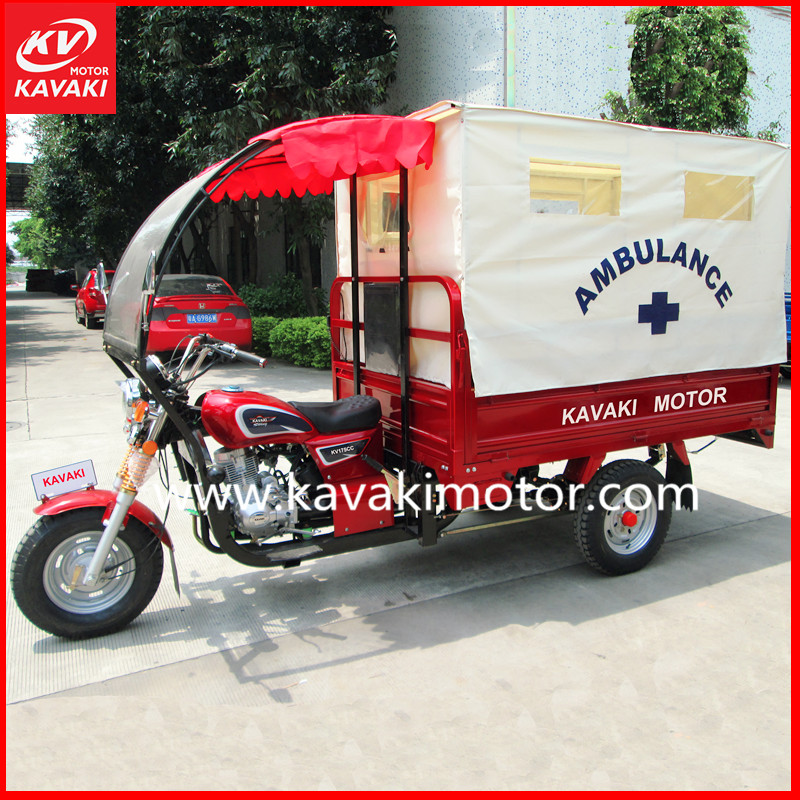 KAVAKI MOTOR Non Diesel Motorcycle Engine 3 Wheel Tricycle Cargo Heavy Loading Scooter