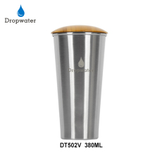DT502V 380ML/13OZ Double Wall Travel Stainless Steel Tumbler Cup With Straw