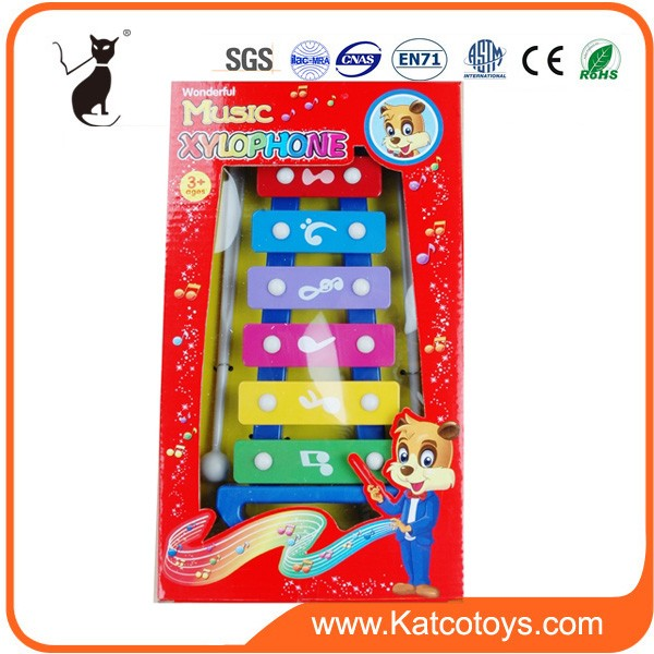 baby Xylophone 8 tones Knock on The Piano toy