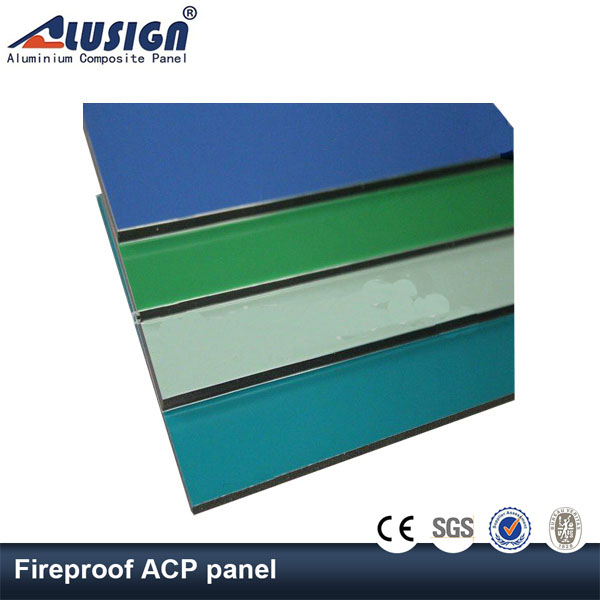 Alusign new products design acp wall cladding sheet price in kerala