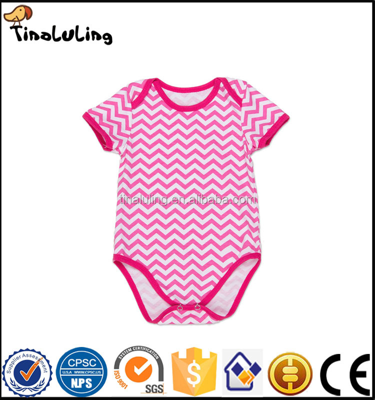 2017 summer baby romper wavy stripe pretty spanish baby clothing clothes brands
