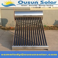 High quality Solar Water Heater Calentador de agua solar for Europe Mexico Africa Market