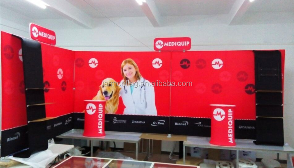outdoor display Tension fabric pop up banner