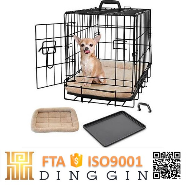 Wire mesh dog carrier travel