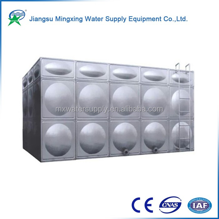 Large Stainless Steel Hot agriculture agriculture irrigation storage tanks for Solar Heating Project