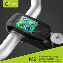 smart bike lcd display meilan m2 olcd screen ebike control GPS cycle computer