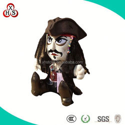 Cheap Customized Best Made Plush Stuffed Pirate Toy Wholesale