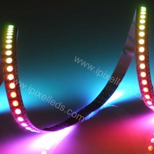 5050 black pcb dmx digital rgb led strip 144 ws 2812b