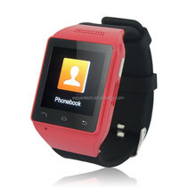 Android Smart Watch with 1.54 Inch touch screen waterproof cdma watch mobile phone
