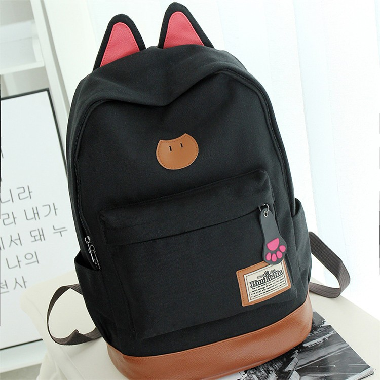 Wholesale gifts school bag canvas <strong>backpack</strong>