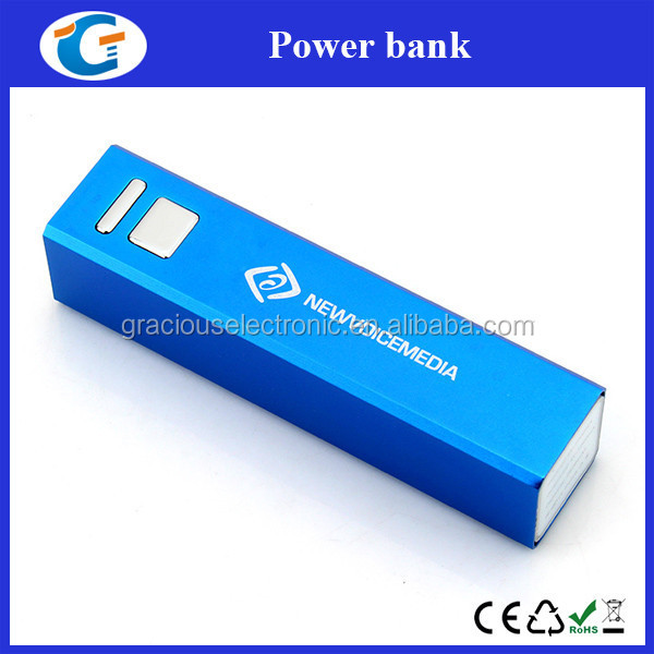 Royal Blue Power Bank Custom Cell Phone Charger With Logo