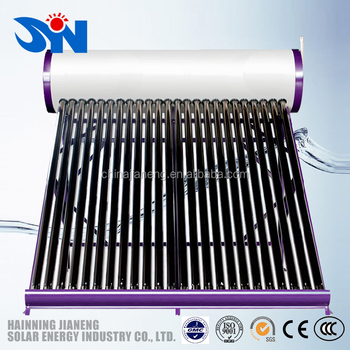 Factory Direct-Made Compact Solar Vacuum Tube Water Heater