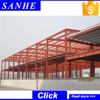 two storey office building / muti-storey structural steel building