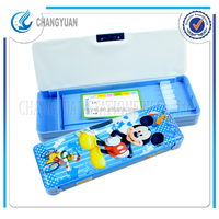 Approved Disney audited promotional plastic pencil case for school's students