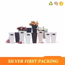 China preserved roses bouquet flower packaging box